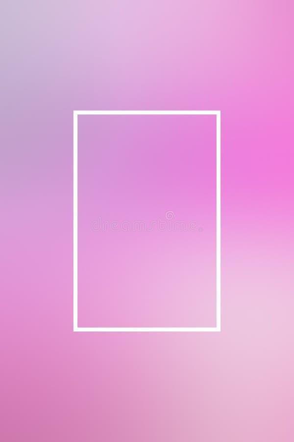 T?o plamy gradientu ramy abstrakt, kopii przestrze? ilustracji