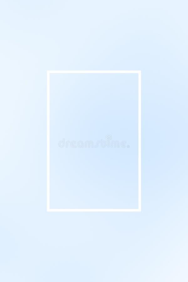 T?o plamy gradientu ramy abstrakt, szablon ilustracji