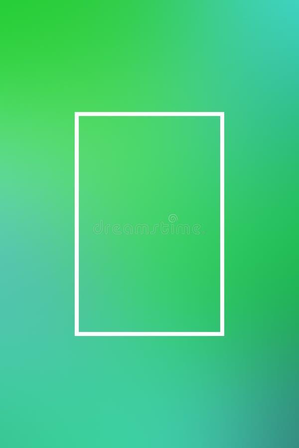 T?o plamy gradientu ramy abstrakt, szablon ilustracja wektor
