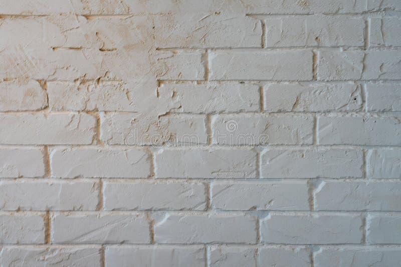 T?o tekstura bia?y Wagi lekkiej betonowy blok, surowy materia? dla przemys?owej ?ciany Bia?y ?ciana z cegie? t?o w wiejskim obraz royalty free
