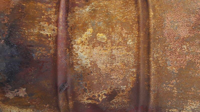 T?o tekstura o?niedzia?y ?elazo Korodowanie metal fotografia royalty free