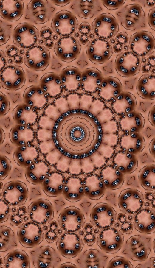 Download Tła oko ilustracji. Obraz złożonej z geometryczny, freaky - 19945201