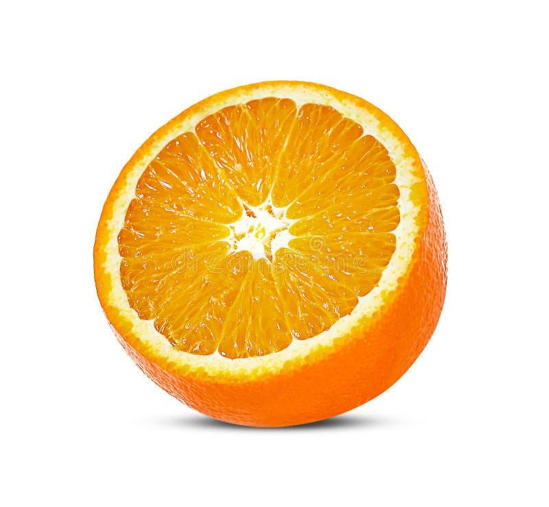 t?a owoc odosobniony pomara?czowy biel obrazy royalty free