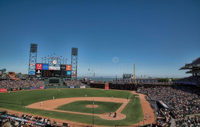 AT&T Parkuje w San Fransisco, Kalifornia zdjęcia royalty free