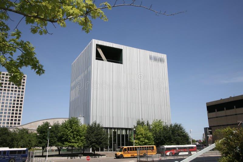 AT&T-Performing Arten-Mitte, Kunst-Bezirk Dallas, Texas lizenzfreie stockbilder