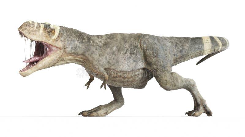 T-rex royalty ilustracja