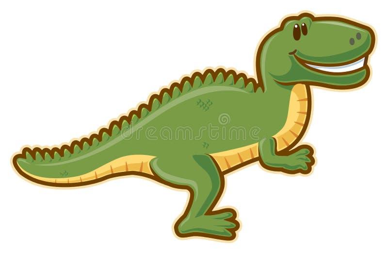 T-rex ilustração do vetor