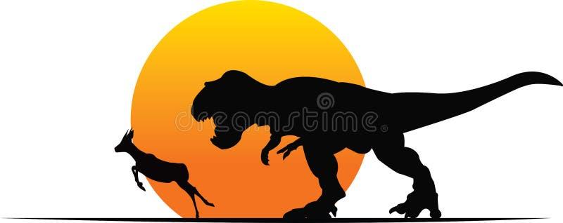 T-Rex fotografering för bildbyråer