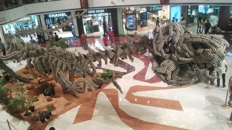 T-rex stockbilder