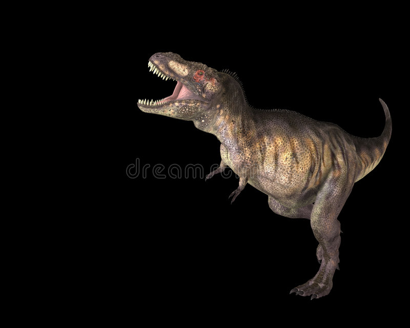 T Rex stock foto's