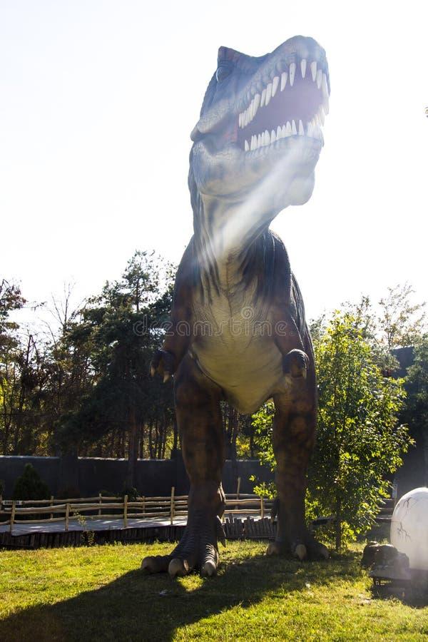 T Rex au soleil photo stock