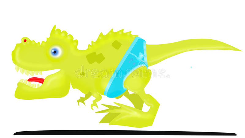 T-Rex minuscule image stock