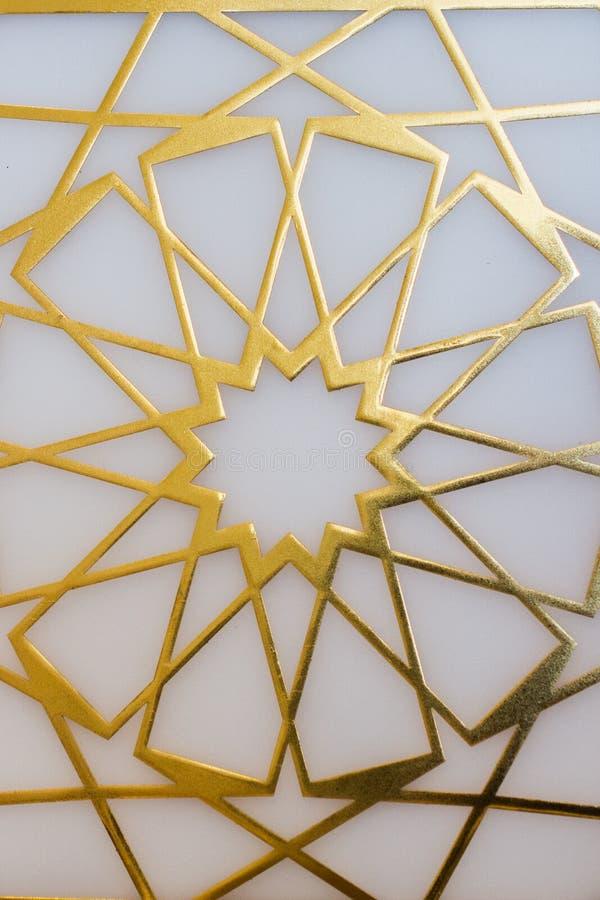 T?rkische Kunst der Osmane mit geometrischen Mustern stockfoto