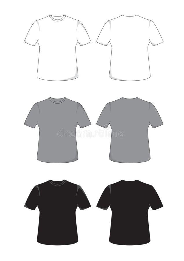 T-shirt ilustração royalty free