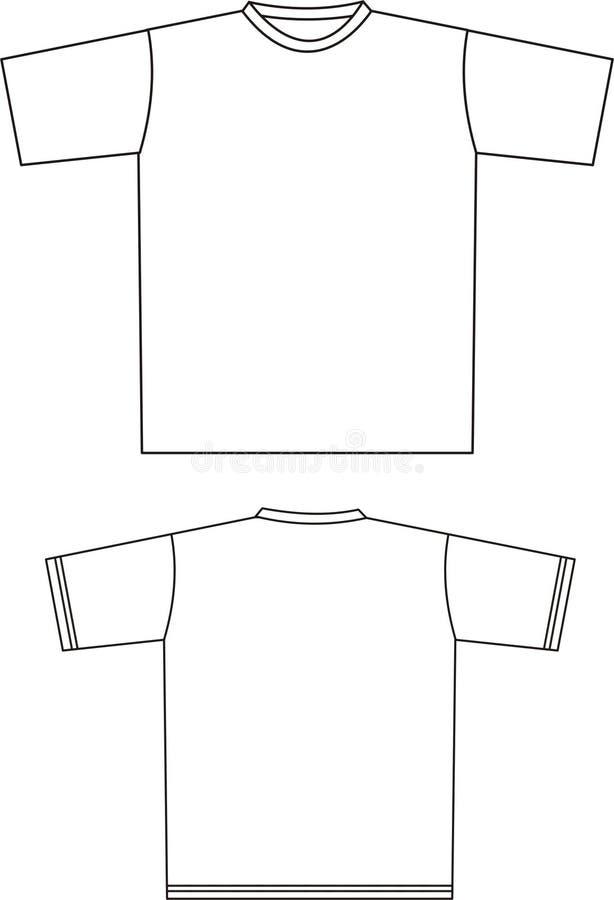 T-shirt 2 vector illustratie