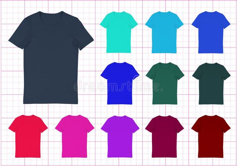 T-Shirt stock abbildung