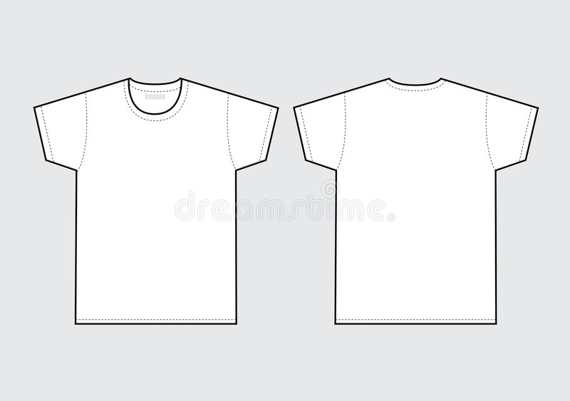 T-shirt illustration de vecteur