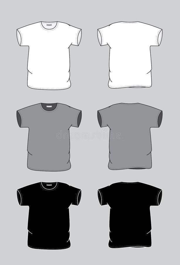 T-shirt royalty-vrije illustratie