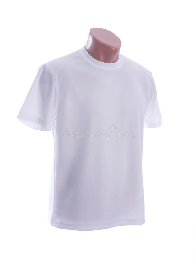 T-shirt blanc photographie stock libre de droits