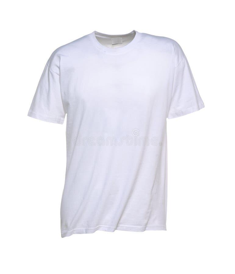 T-shirt blanc pour les hommes photos stock