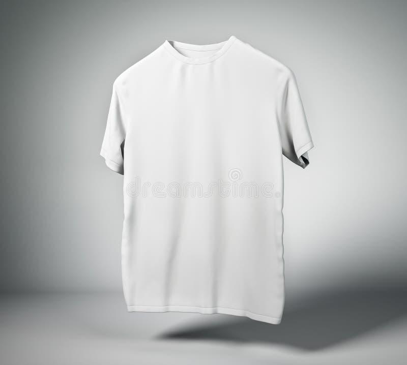 T-shirt blanc blanc illustration de vecteur
