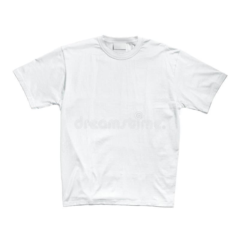 T-shirt branco fotos de stock