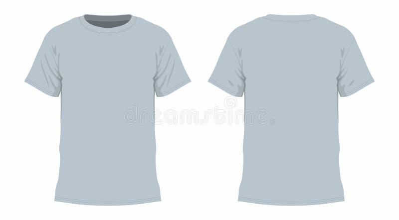 T-shirt cinzento ilustração royalty free