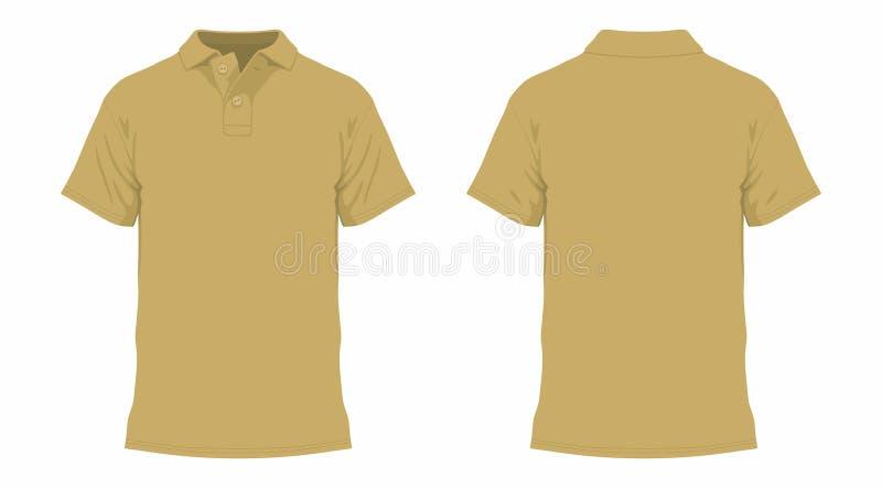 T-shirt da mostarda ilustração stock
