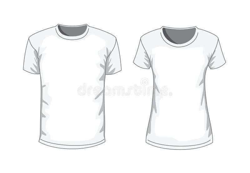 T-shirt de vecteur illustration de vecteur