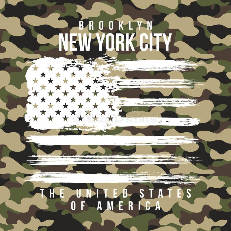 T shirt design with camouflage texture new york city typography download t shirt design with camouflage texture new york city typography with slogan for toneelgroepblik Images