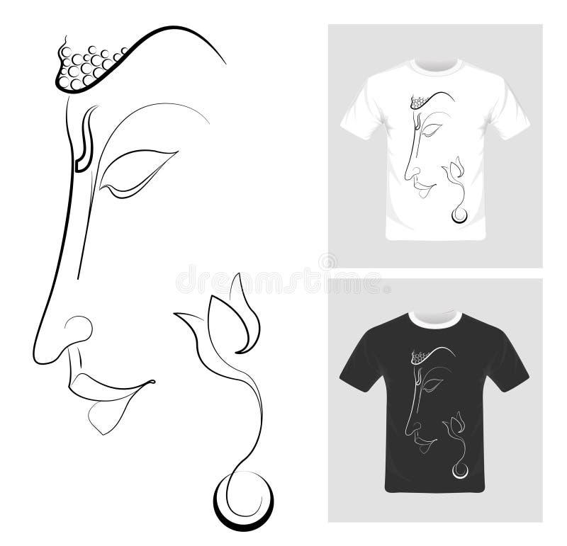T-shirt graphic design vector royalty free illustration