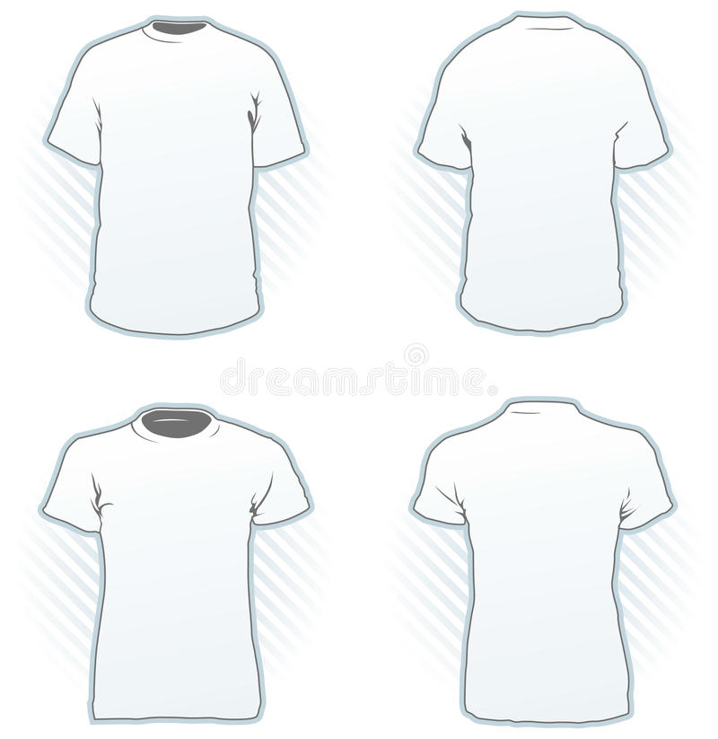 Download T-shirt design template stock vector. Illustration of female - 12106829