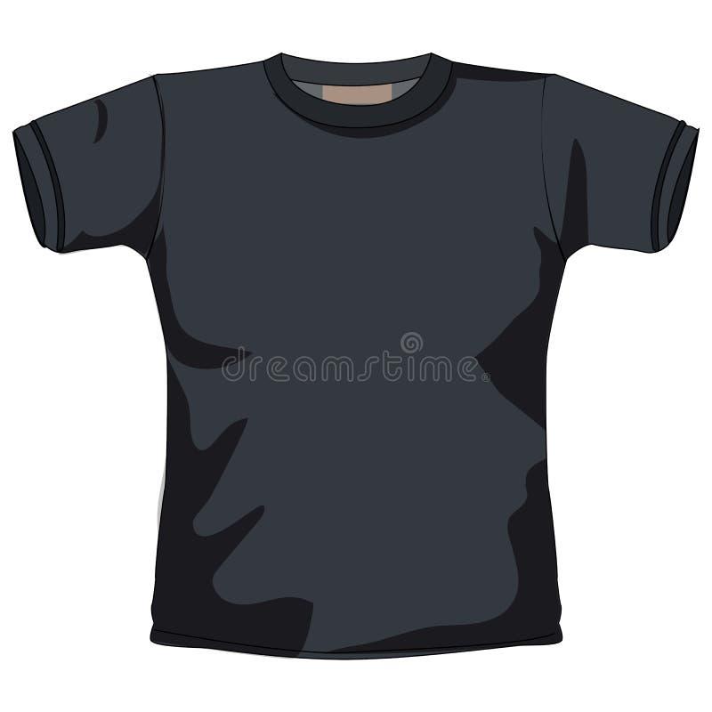 T-shirt em branco ilustração stock