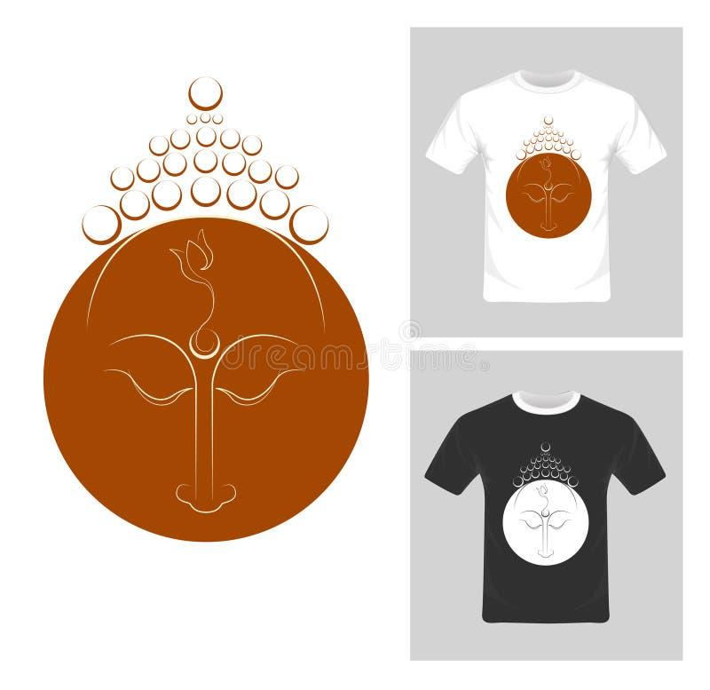 T-shirt graphic design vector. vector illustration