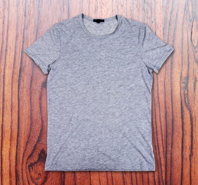 T-shirt gris vide photos stock