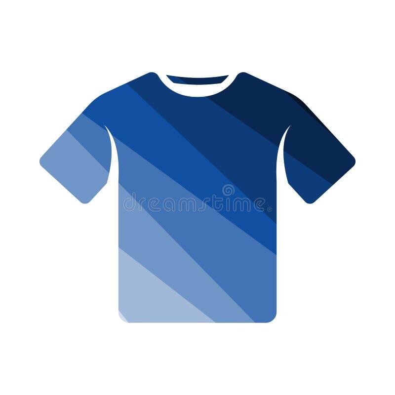 T-Shirt Ikone stock abbildung