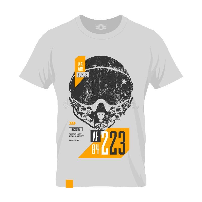 T-shirt mock up vector illustration