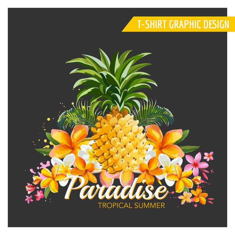 Free T-shirt Pineapple Background Stock Photo - 55995470