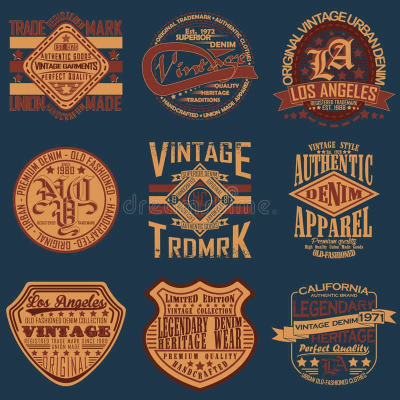 T-shirt print design vector illustration