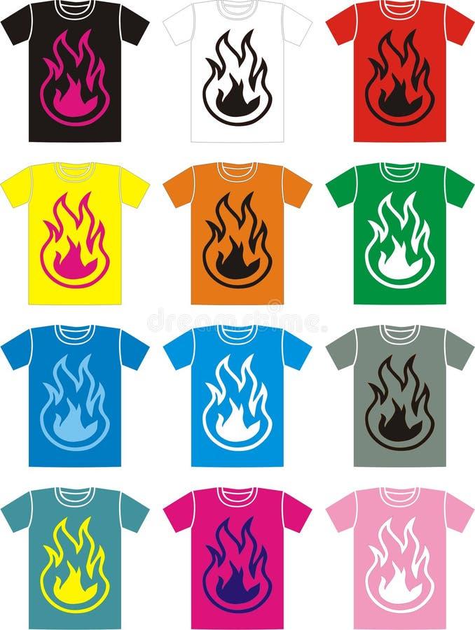 T-shirt \ 's photos stock