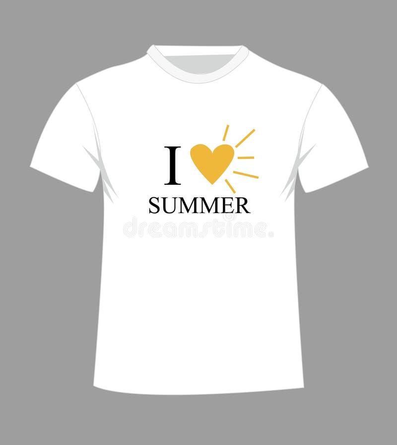 T-Shirt Schablone Front Und Rückseite Vektor Abbildung ...