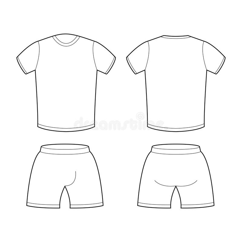 Costume Design Template Blank Front And Back