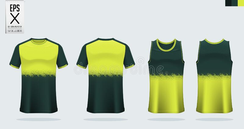 t shirt sport mockup template design for soccer jersey football kit tank top for basketball jersey and running singlet vector stock vector illustration of icon front 173183454 t shirt sport mockup template design