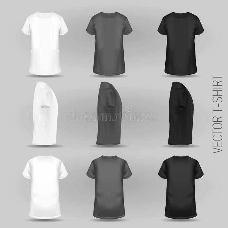 Free T-shirt Template In Three Dimentions Stock Photos - 122454993