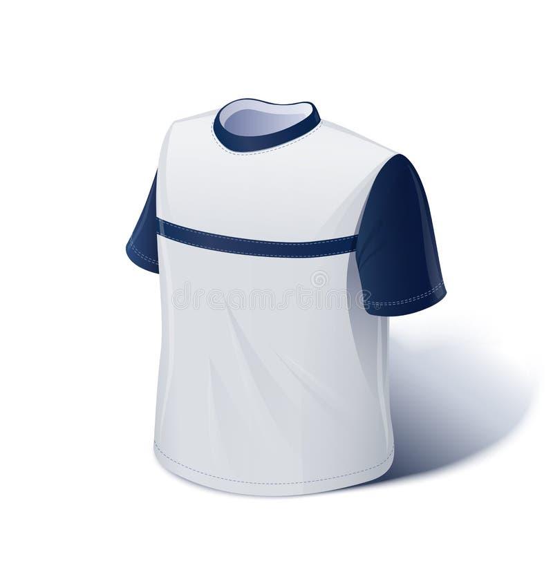 T-shirt. Usage de sports. illustration libre de droits