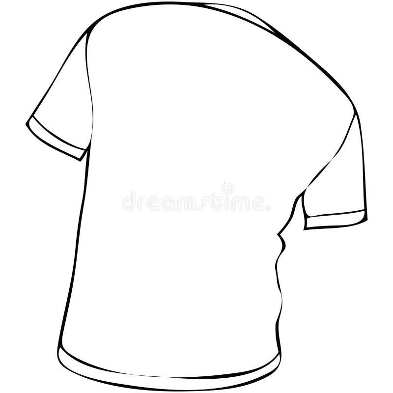 T shirt stock illustration