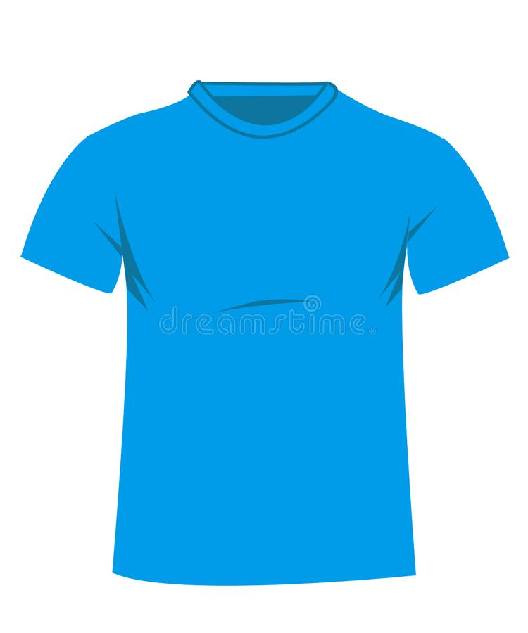 T shirt vector illustration royalty free stock photography