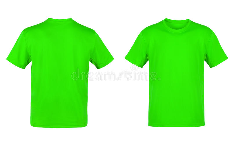 T-shirt verde fotos de stock royalty free
