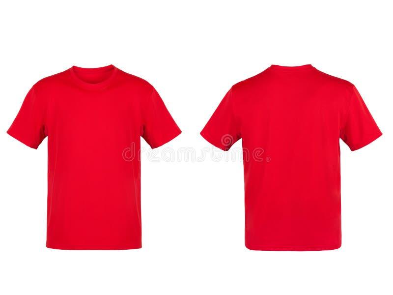 T-shirt vermelho fotografia de stock royalty free