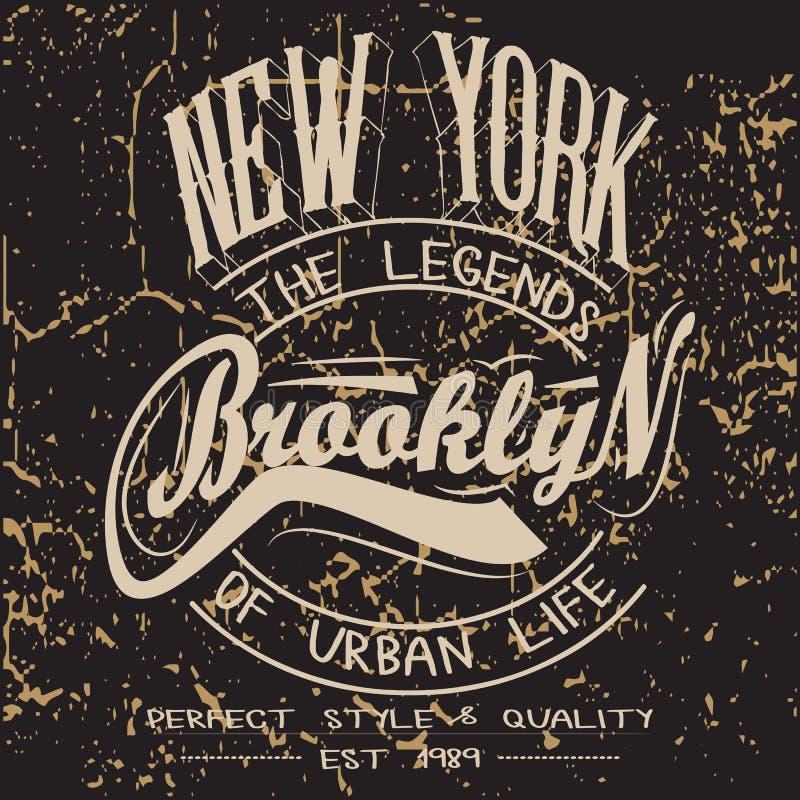 T-shirtgrafiek stock illustratie